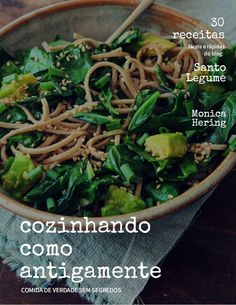 Cozinhando como antigamente - Ebook com 30 receitas do blog