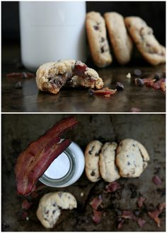 Pudgy Bacon Chocolate Chip Cookies (Grain//Egg/Dairy Free) by @UrbanPoser