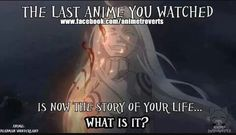 Mine is Tokyo Ghoul I would love to be in Tokyo Ghoul only if am a Ghoul myself