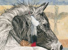 Crow Tipi by Judy Larson