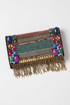 obsessed with this lil gem of a purse from Anthro