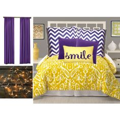 Cute LSU room for a girl. LOVE this! Definitely doing it!