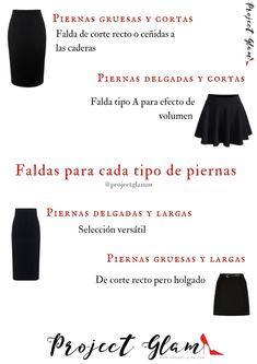 Cuando nos provoca lucir un outfit con falda, queremos hacer la mejor  elección, solo necesitamos saber qué estilo de prendas nos queda mejor que  otras y seleccionar correctamente.