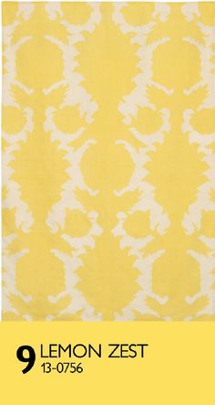 modernrugs.com We love the Lemon Zest color in this Thomas Paul yellow modern area rug