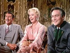 The puppet show scene ~ Max, The Baroness, and Captain Georg Von Trapp