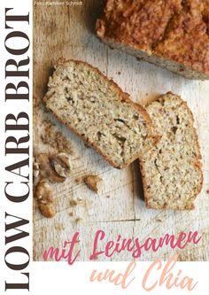 Bei Low Carb sind Brot und Brötchen tabu? Denkste! Dieses Low Carb-Brot enthält kaum Kohlenhydrate.