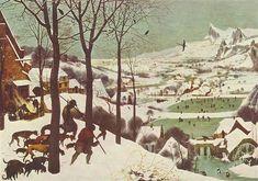 Los cazadores en la nieve, 1565 - Pieter Bruegel the Elder