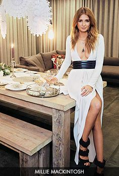 Gorgeous Couture // Millie Mackintosh in our beautiful new Amber Maxi Dress