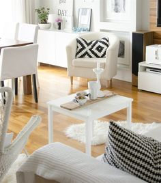 Monochrome | LAPPLJUNG RUTA cushion cover | Joanna's home in Poland | See more at acupofheaven.blogspot.com | Live from IKEA FAMILY
