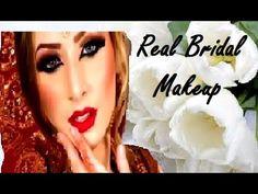 Real Bride Baraat Reception Makeup And Hairstyling Asian Bridal Makeup