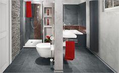 Badgestaltung mit Farbtupfern! Mit wechselnden und frischen Badaccessoires kommt Farbe ins Bad.