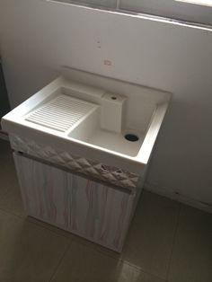 Lavadero para ropa de cemento y adios brazos flacidos for Fregadero lavadero
