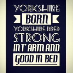 We're celebrating everything that is great about Yorkshire and probably worsening the stereotype in the process! Can you sum up Yorkshire in 1 image? Cornwall England, Yorkshire England, North Yorkshire, Yorkshire Dales, Yorkshire Sayings, Kingston Upon Hull, Castles In England, Funny Signs, Funny Photos