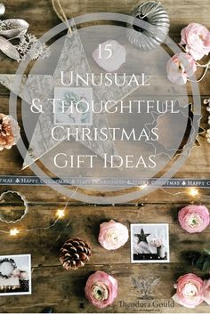A collection of thoughtful and unusual Christmas Gift Ideas.  It's not just jewellery, there are all sorts of fun things.