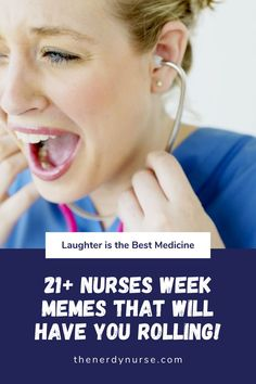 21+ Nurses Week Memes That Will Have You ROLLING! Nurses Week is coming. Get ready with these Nurses Week memes that you will relate to. #thenerdynurse #nurse #nurses #nursehumor #humor #nurselifestyle