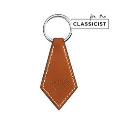 Hermés Tab Leather Key Chain
