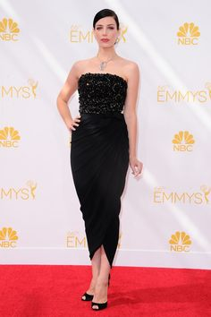 Jessica Pare at the 2014 Emmy Awards