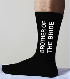 Hey, I found this really awesome Etsy listing at https://www.etsy.com/listing/195909558/brother-of-the-bridesocksgroom