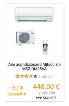 Aire acondicionado Mitsubishi MSZ-DM25VA