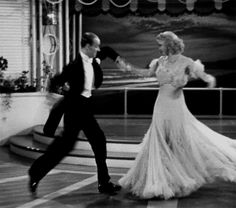 Fred Astaire and Ginger Rogers, of course, in The Gay Divorcee (Mark Sandrich, 1934)