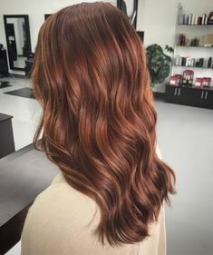 Burgundy Brown - 40 Red Hair Color Ideas – Bright and Light Red, Amber Waves, Ginger Hair Color - The Trending Hairstyle Hair Color Auburn, Red Hair Color, Cool Hair Color, Balayage Hair Auburn, Medium Auburn Hair, Brown Auburn Hair, Red Brown Hair, Hair Medium, Purple Hair