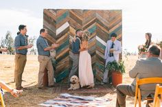 Flying Caballos Guest Ranch ceremony - this is a great DIY project and one that is multipurpose after the wedding -