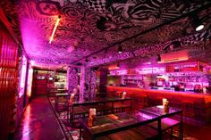 MEATliquor Brighton. You might now it for its bloody burgers and fries covered in steaming chilli, but did you know MEATliquor is a big booze den? More on http://bestbars.com/2014/05/20/meatliquor-brighton-2/