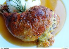 Chicken thighs castle mistress (English Translation Available) Czech Recipes, Russian Recipes, Ethnic Recipes, Multicooker, Chicken Thighs, Food To Make, Chicken Recipes, Pork, Food And Drink