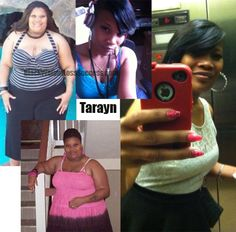 Let's show some Black Women Losing Weight love to Tarayn. She lost 178 pounds with weight loss surgery and lifestyle change.