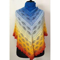 Thassos Mosaic Crochet Blanket instant download PDF pattern | Etsy Crochet Cable, Crochet Chart, Free Crochet, Shawl Patterns, Pdf Patterns, Crochet Patterns, Crochet Triangle, Triangle Scarf, Fingering Yarn