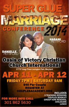 SUPER GLUE MARRIAGE CONFERENCE 2014 Marriage Conference, Lexington Park, Super Glue, Christian Church, Love And Marriage, Booklet, Vows, Relationship, Teaching