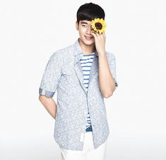 Kim Soo Hyun - ZIOZIA S/S 2014