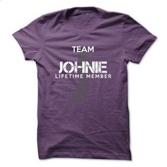 JOHNIE - TEAM JOHNIE LIFE TIME MEMBER LEGEND - #sweaters for fall #sweater for men. MORE INFO => https://www.sunfrog.com/Valentines/JOHNIE--TEAM-JOHNIE-LIFE-TIME-MEMBER-LEGEND-54157553-Guys.html?68278