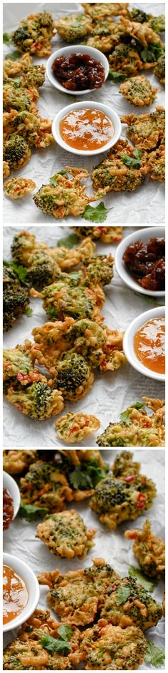 These spicy pakoras are quick and easy to make and work well as a simple starter or lunchtime treat served with Indian chutney.