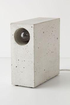 Concrete Lamp from Matthias Kothe