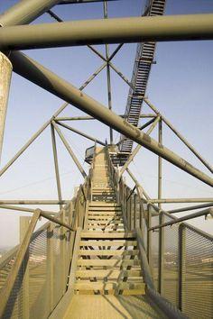 Tetraeder in Bottrop, Ingenieurbau - baukunst-nrw