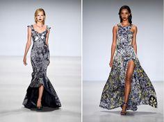 Deola Sagoe At Mercedes Benz Fashion Week NY #spring2015 #nyfw