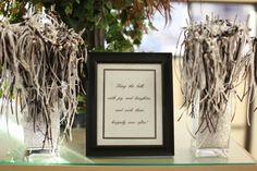 Ribbon Wands Wedding Reception Jingle Bells Ribbons Get Away Black White Silver Diy Wands1 640x427