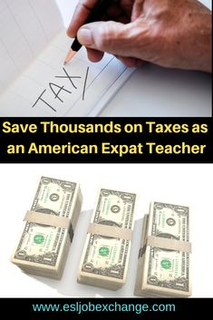 Americans who are teaching English abroad can save thousands of dollars each year and stay out of trouble by understanding a few easy tips. Country Information, Job Information, Tax Advisor, Teaching English Online, Work Abroad, Previous Year, Business Management, Esl, Textbook