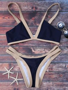 SHARE & Get it FREE | Cut Out Color Block Bikini Bathing Suit - Purplish Blue MFor Fashion Lovers only:80,000+ Items • New Arrivals Daily Join Zaful: Get YOUR $50 NOW!