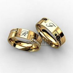 Jewellery Stores Dubai any Matching Rings For Girlfriends considering Couple Rings Necklace rather Jewellery Nz wherever Matching Wedding Bands For Couples Gold Wedding Rings, Wedding Bands, Gold Rings, Ruby Rings, Engagement Rings Couple, Couple Rings, Couple Ring Design, Gold Ring Designs, Antique Rings