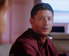 Dean - I can't even think -  9x13 The Purge [gif]