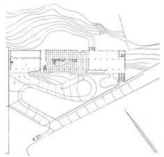 Grande Hotel de Ouro Preto, implantação Fonte: Goodwin