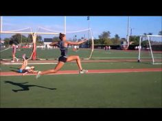 How to - Long Jump ( Check Points and Positions Part 1 of 2 ) Jump Higher Workout, Jump Workout, Track Workout, Running Workouts, Long Jump, High Jump, Vertical Workout, Physical Therapy Exercises, Triple Jump