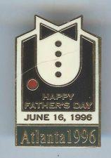 OLYMPICS 1996 ATLANTA CENTENNIAL HAPPY FATHERS DAY HOLIDAY PIN Atlanta Olympics, Happy Fathers Day, Holiday, Happy Valentines Day Dad, Vacations, Holidays, Vacation