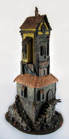 Mordheim clock tower