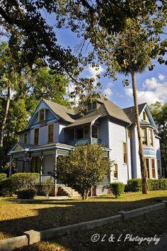 Ocala (Florida) The Seven Sisters Inn.