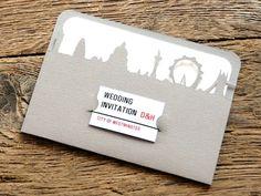 Fabulous London wedding invitation | www.suziewhite.co.uk