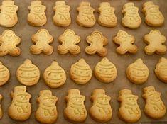 Szybkie maślane ciasteczka - Blog z apetytem Gingerbread Cookies, Baked Goods, Xmas, Christmas, Food And Drink, Baking, Health, Blog, Cakes
