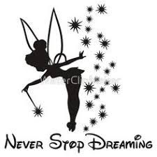 Image result for tinkerbell pixie dust silhouette